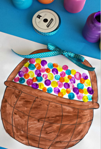 fingerprint-craft-for-kids-easter