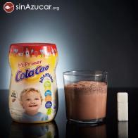 0g de Mi primer Cola Cao contiene 10.8g de azúcar, casi 3 terrones. Lo patrocina La Sociedad Española de Pediatría Extrahospitalaria y Atención Primaria (SEPEAP).